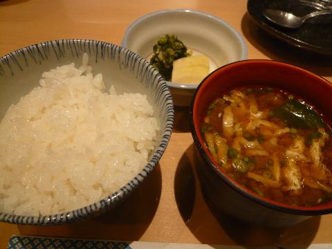 新宿割烹 中嶋 柳川定食 ご飯