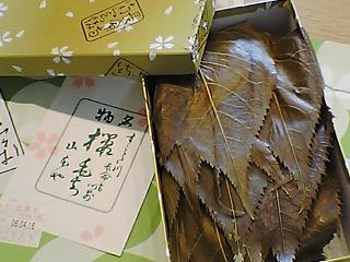 長命寺桜餅 箱