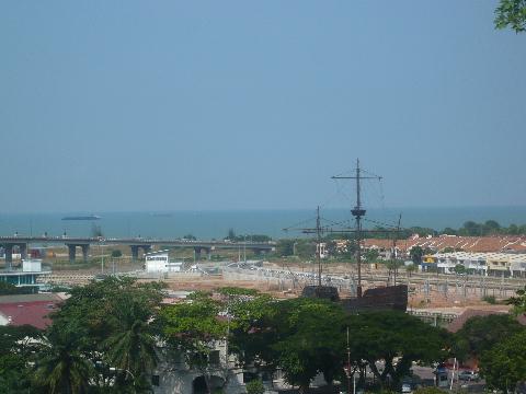 マラッカ 市街地 教会 マラッカ海峡2