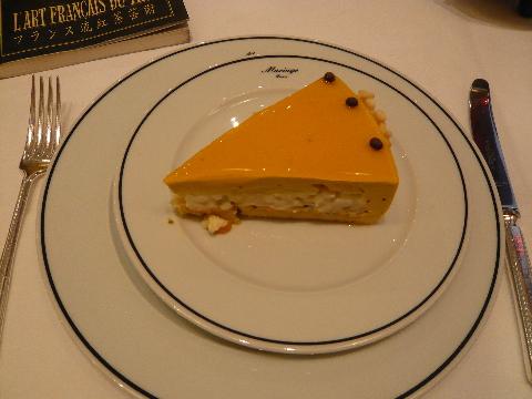 マリアージュ・フレール マンゴーケーキ