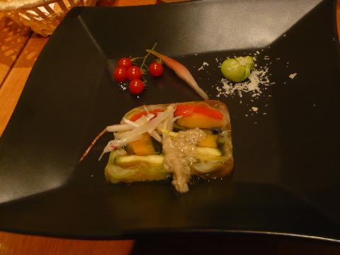 ダルマット恵比寿 野菜のテリーヌ
