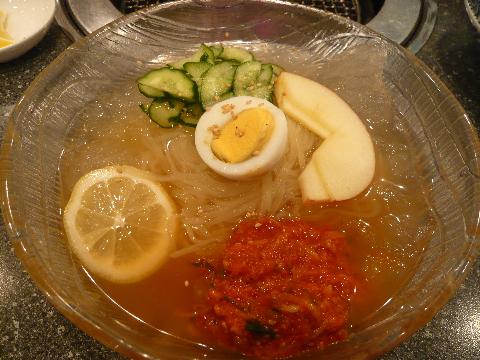 あかべこ 冷麺