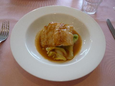 ル・ビストロ・ダ・コテ メイン 魚