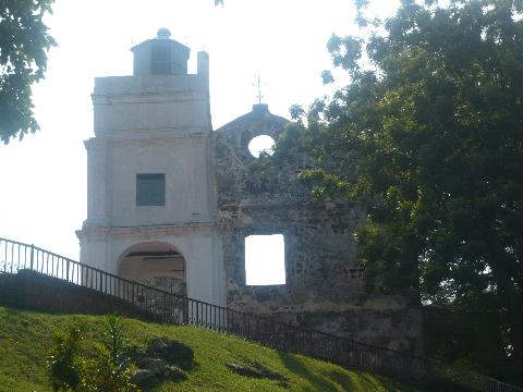 マラッカ 市街地 教会