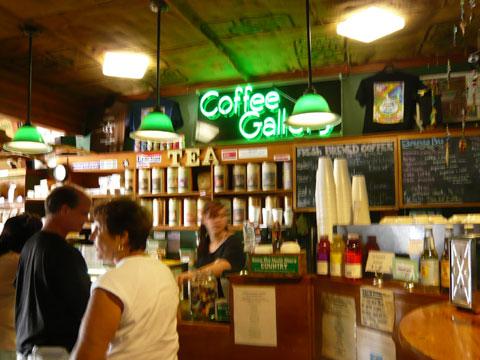 ハレイワ コーヒーギャラリー 店内2
