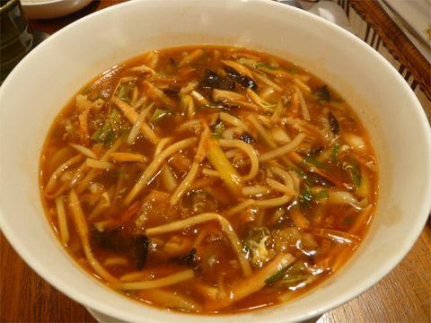 中国薬膳料理 星福 刀削麺