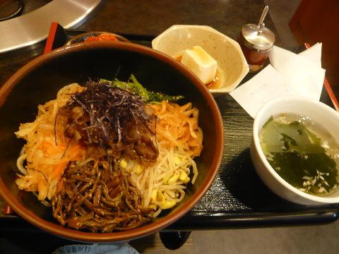 焼肉レストラン清香苑 ビビンバ