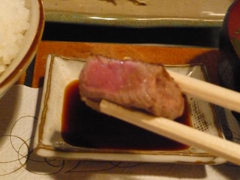 パンドラ ステーキランチ 肉アップ