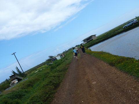 エビ釣りツアー ロミーズ のんびりとした風景2
