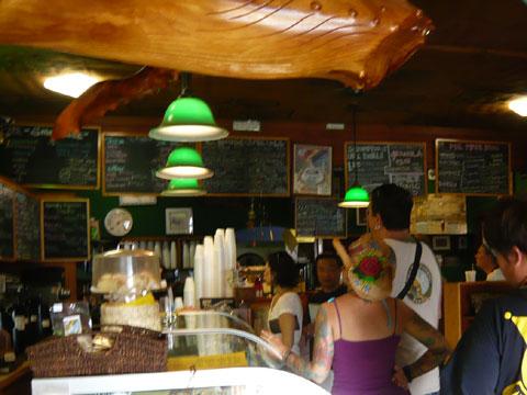 ハレイワ コーヒーギャラリー 店内1