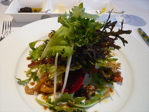 エルミタージュ・ドゥ・タムラ つぶ貝とみる貝のサラダ