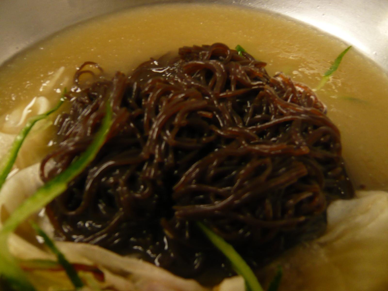 ユッチャン 冷麺の麺