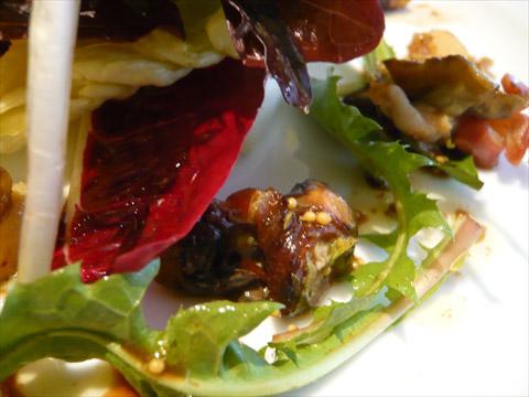 エルミタージュ・ドゥ・タムラ つぶ貝とみる貝のサラダ2