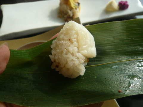 酒肴「omborato(おんぼらあと)」 笹寿司