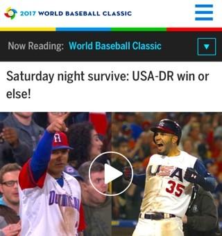 1ab5e1efe151f WBCに関してはMLB.comには、探せば出てくる記事が上げてある。しかし日本の盛り上がりとは隔世の 感がある。いい選手をそろえてきているとはいえ、アメリカ人のサポート ...