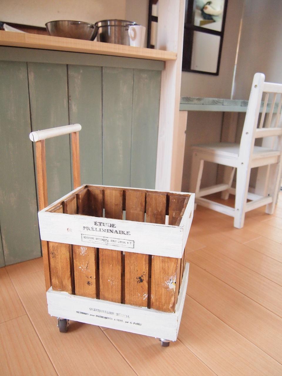 キッチン 手作りままごとキッチンカラーボックス : ... 雑貨 : marguerite~手作りblog