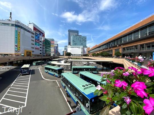 01 仙台の街、Sendai Miyagi Japan