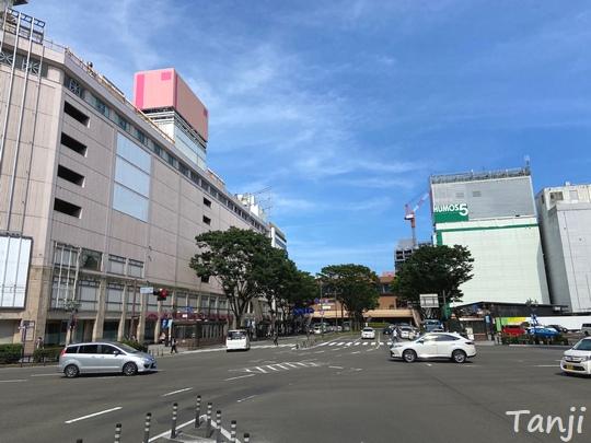 07 仙台の街、Sendai Miyagi Japan