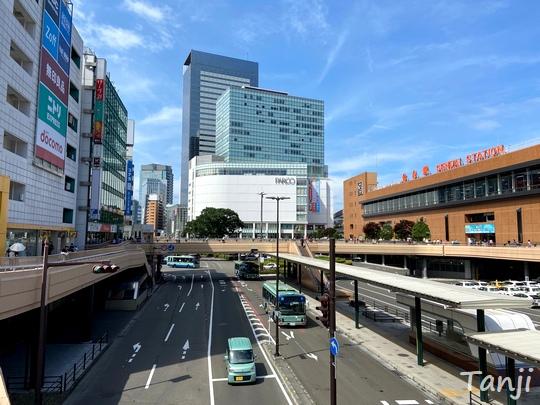 02 仙台の街、Sendai Miyagi Japan