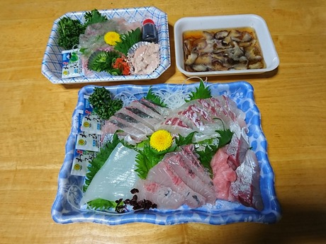 芝鮮魚店の刺身