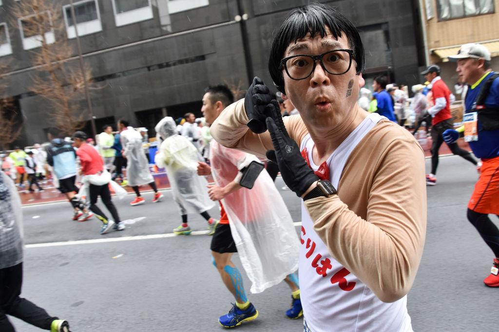 【東京マラソン2019】 雨もしたたるコスプレランナー画像集