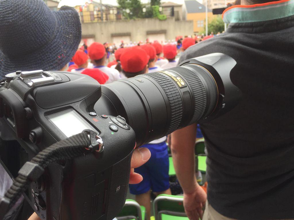 運動会にプロ用の大三元レンズをレンタルしたら世界が変わった話