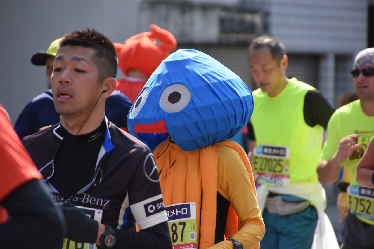 東京マラソン2016 斜め上を爆走するコスプレランナー30選