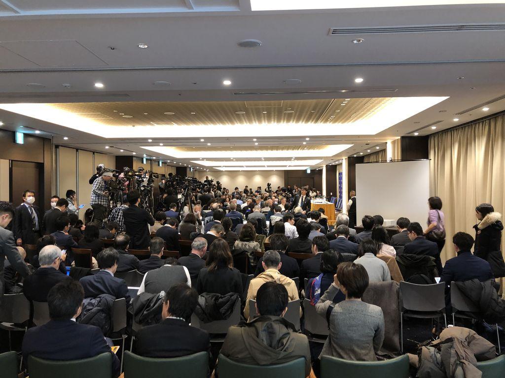 昨年引越して綺麗になった、日本外国特派員協会(FCCJ)に行ってきた