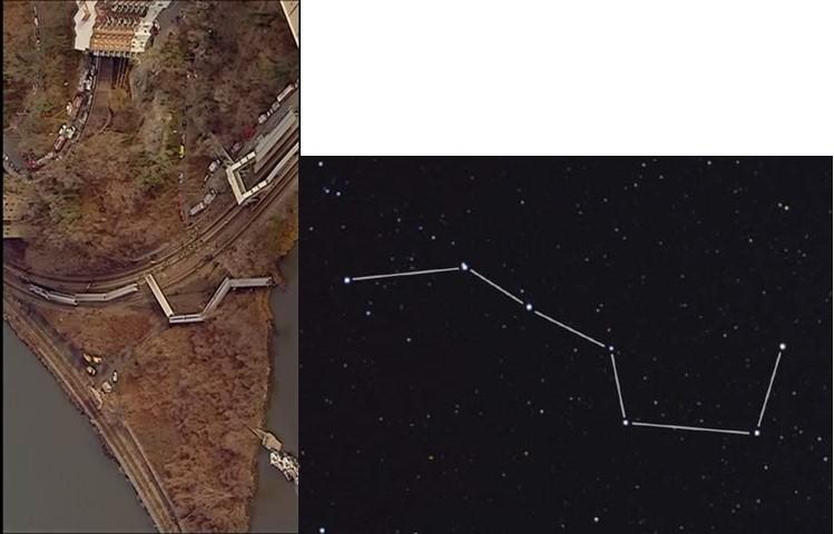 NY列車事故は北斗の星の影響かもしれない