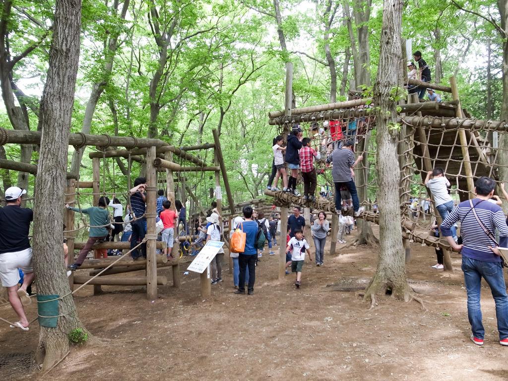 ふなばしアンデルセン公園はゴールデンウィーク中でも耐えられる混雑で子供大満足!