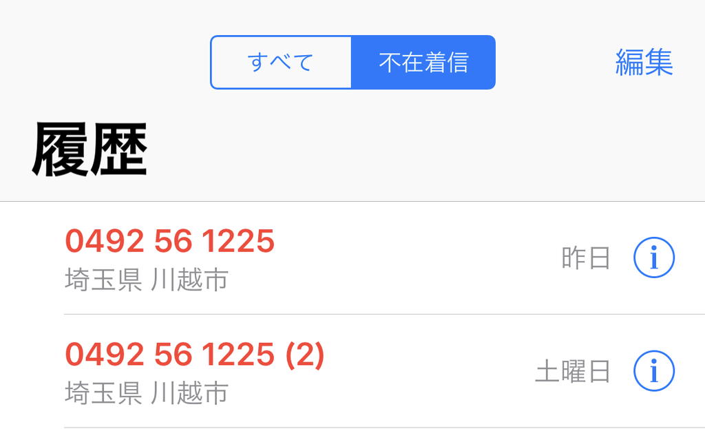 「0492 56 1225」見知らぬ番号に出たらクレカが不正使用されてたでござる
