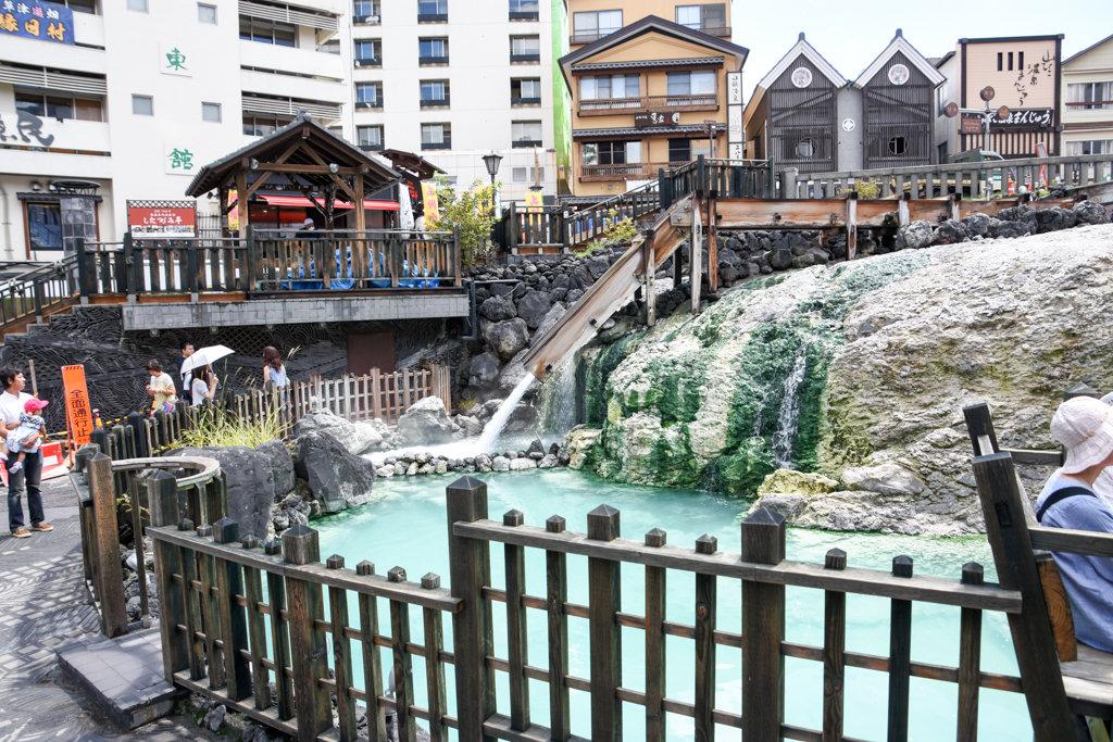 草津温泉 日帰り電車旅 上野駅から3時間で温泉天国!