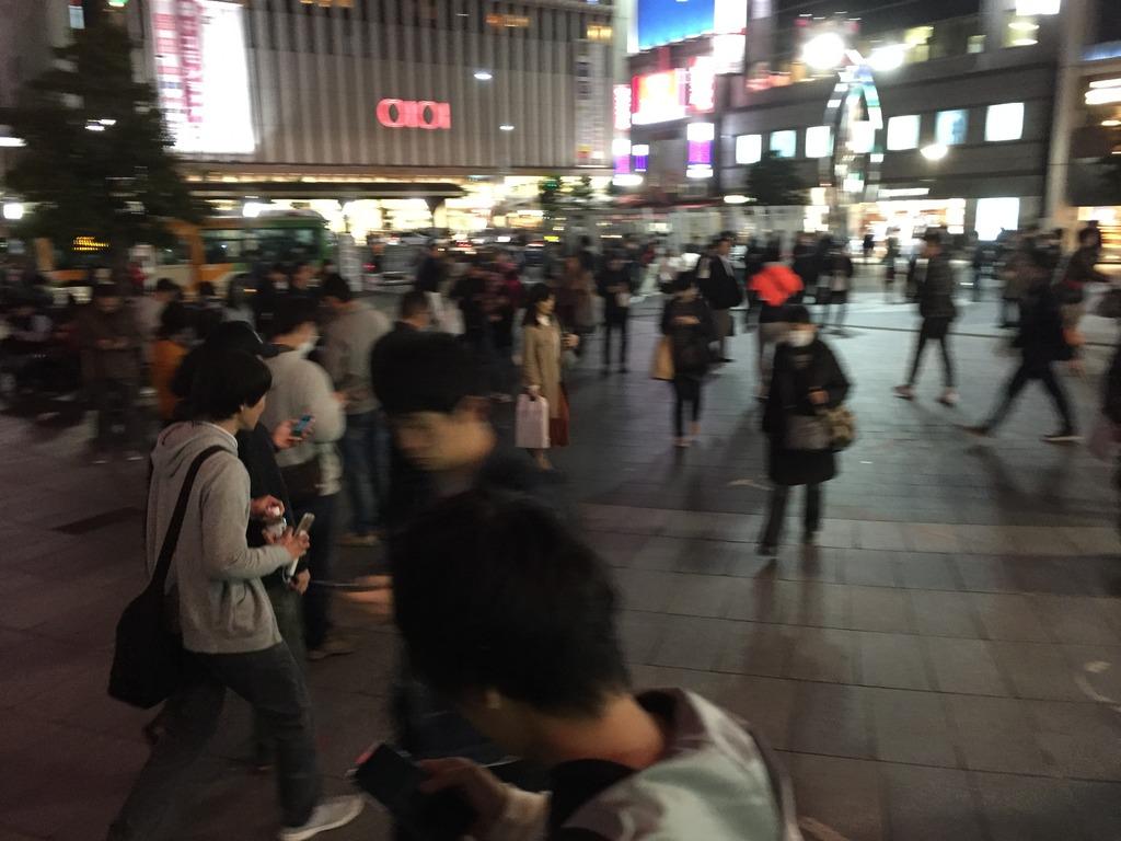 錦糸町の駅がポケモンGOフィーバーで大変なことになっていた