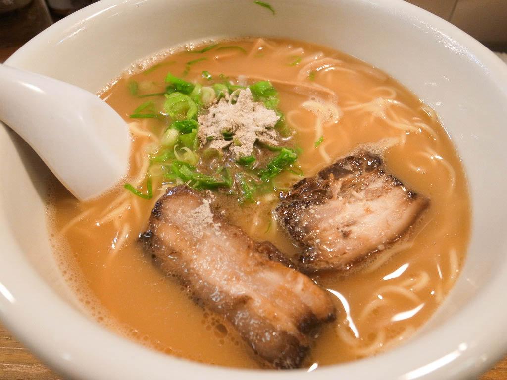 松山はラーメンが甘い!デザート感覚で別腹確定の魔力「瓢太」