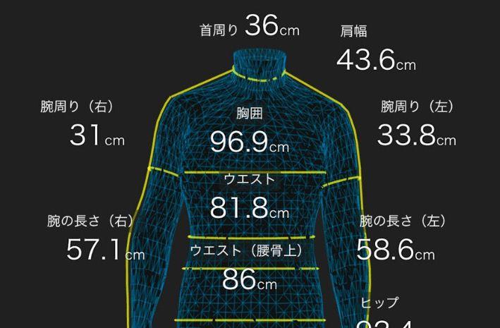 体型がひと目でわかるZOZOスーツはレコーディングダイエットの強い味方