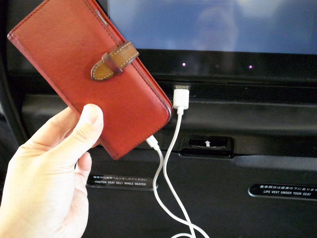 スターフライヤー充電USB