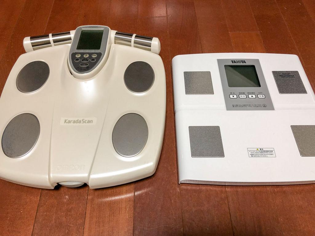 タニタの体重計を買ったら安くて薄くて軽くて震えた