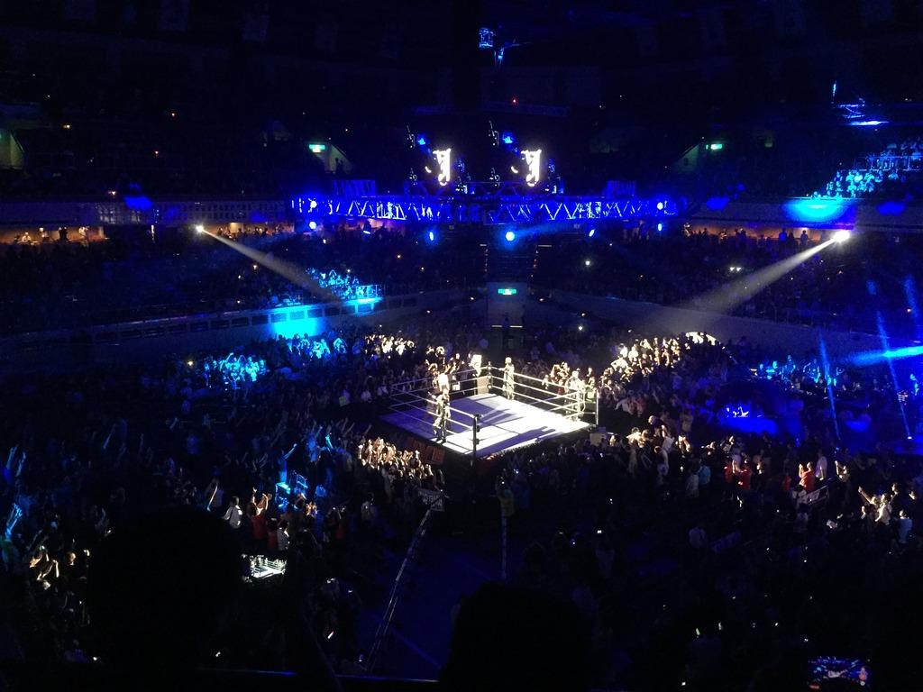 WWE日本公演で「グローバルスタンダード」を肌で感じた件
