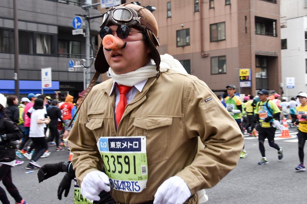 東京マラソン2018 頑張りすぎたコスプレランナー30選
