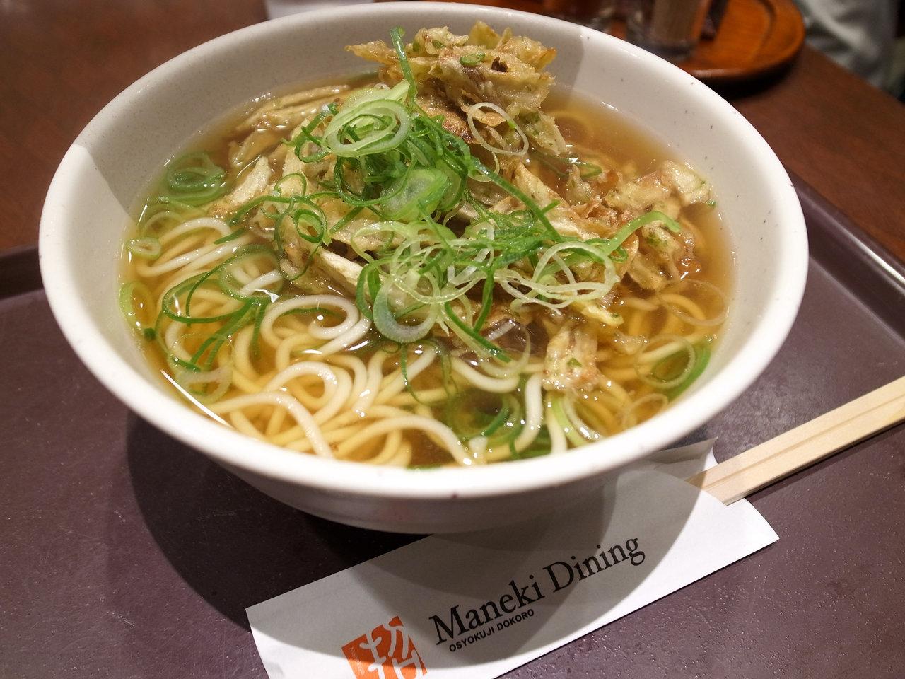 そばつゆにストレート麺!?姫路駅の「えきそば」がB級でたまらない