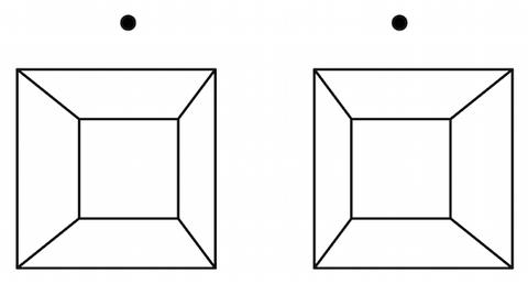150928 ステレオグラム 四角錐 平行法