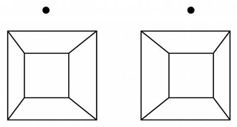 150928 ステレオグラム 四角錐 交差法