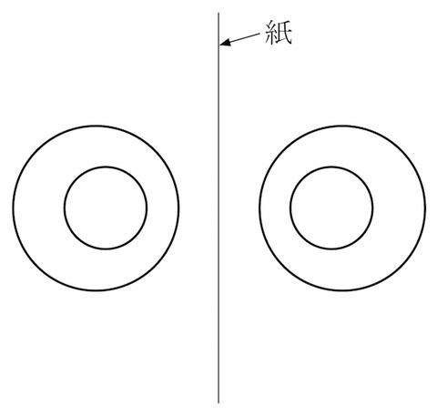150925b ステレオグラム平行法 説明図