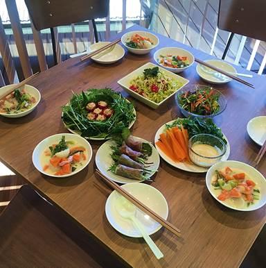 収穫野菜パーティ