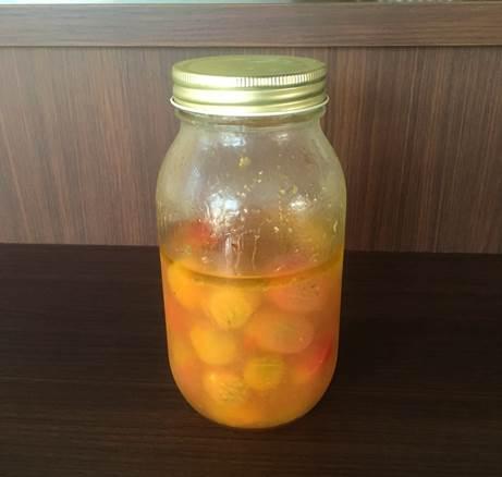 ミニトマトの梅シロップマリネ
