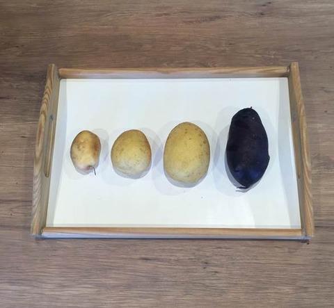 3種4個のイモ