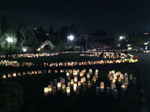 仲秋の灯り祭り