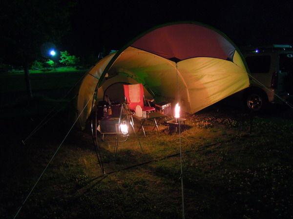 テント夜景