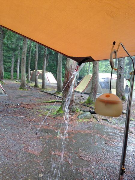 2日目豪雨