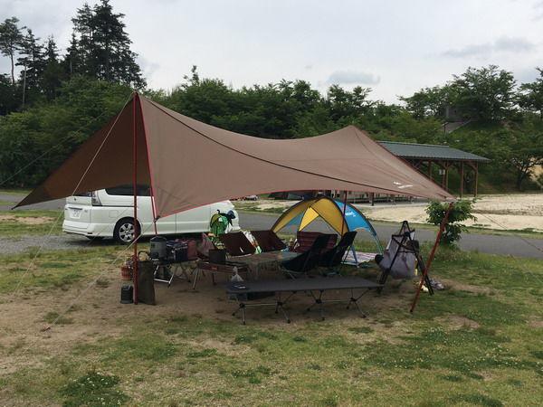 ささゆりの湯キャンプ01